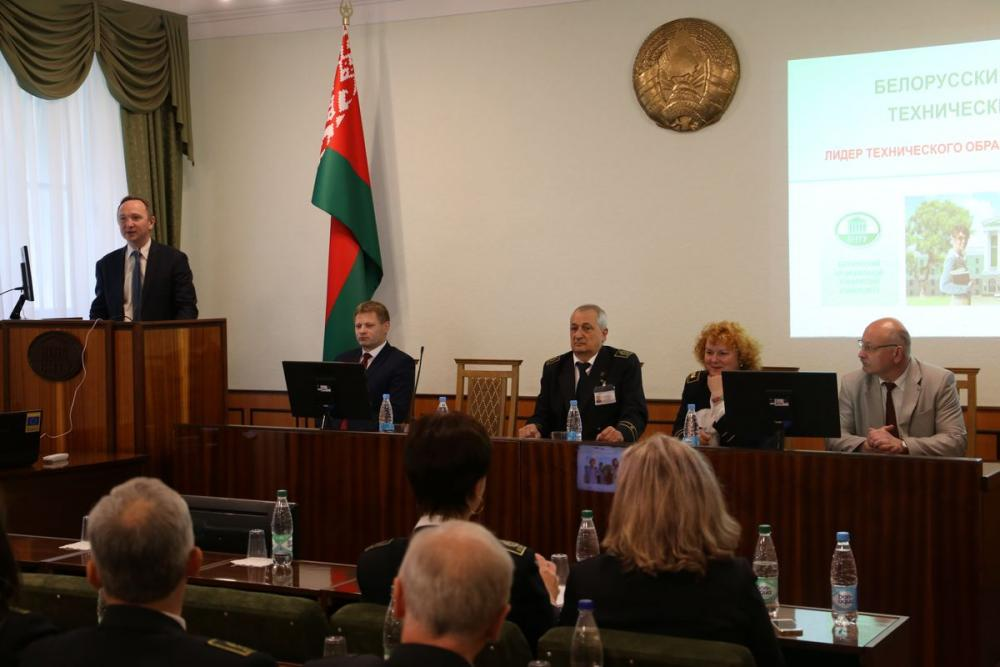 Визит делегации Санкт-Петербургского горного университета