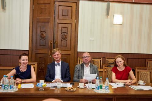 Визит в БНТУ делегации Германии