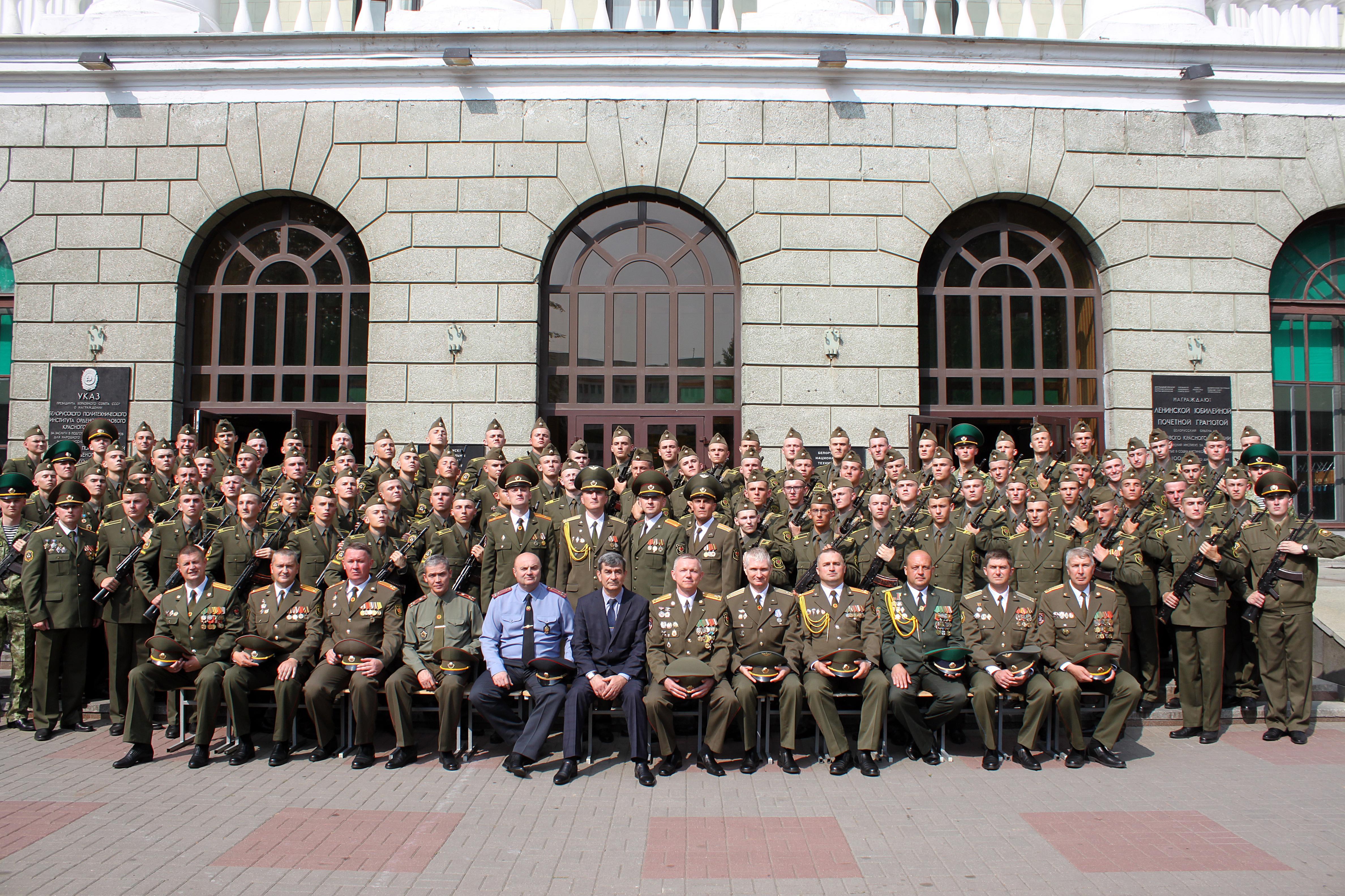 Батальон курсантов