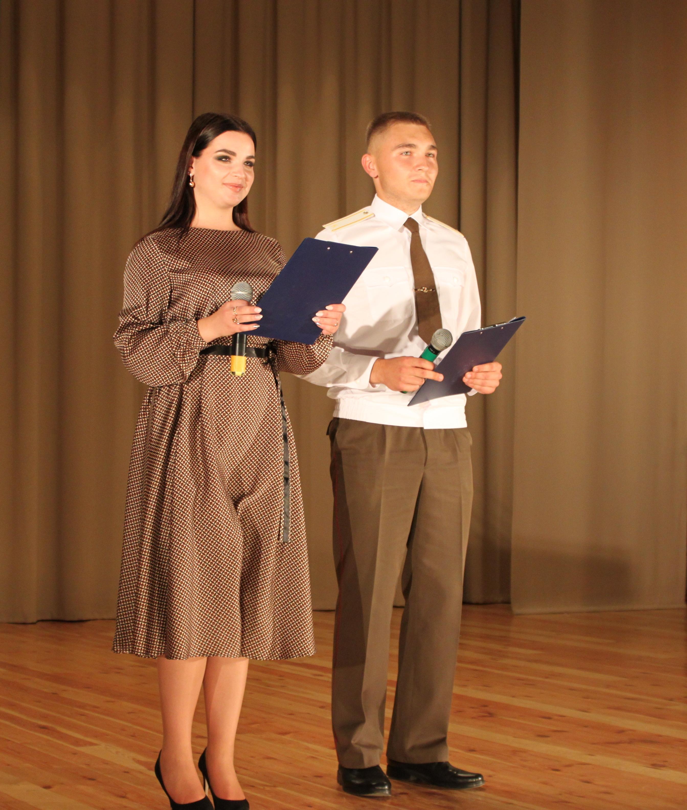 Ведущие мероприятия Анастасия Коржиц и Владислав Бурда