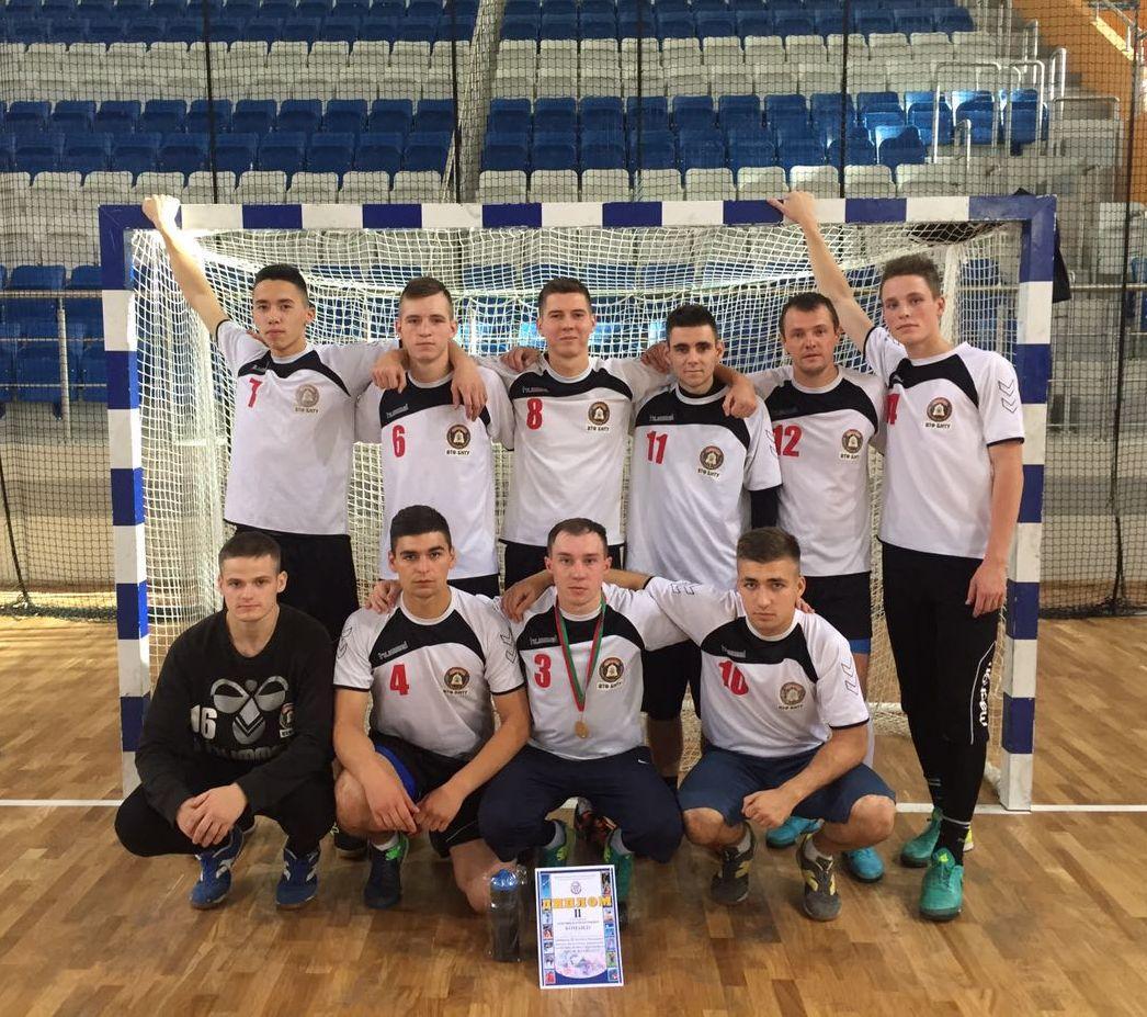 Чемпионат военных факультетов в учреждениях высшего образования по мини-футболу