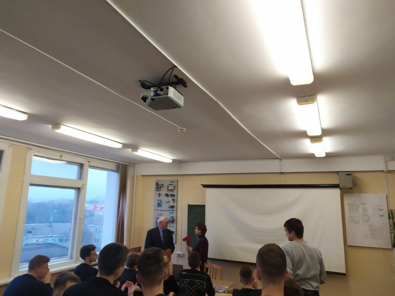 Кураторский час на тему «Вооруженные силы Республики Беларусь: прошлое, настоящее, будущее»