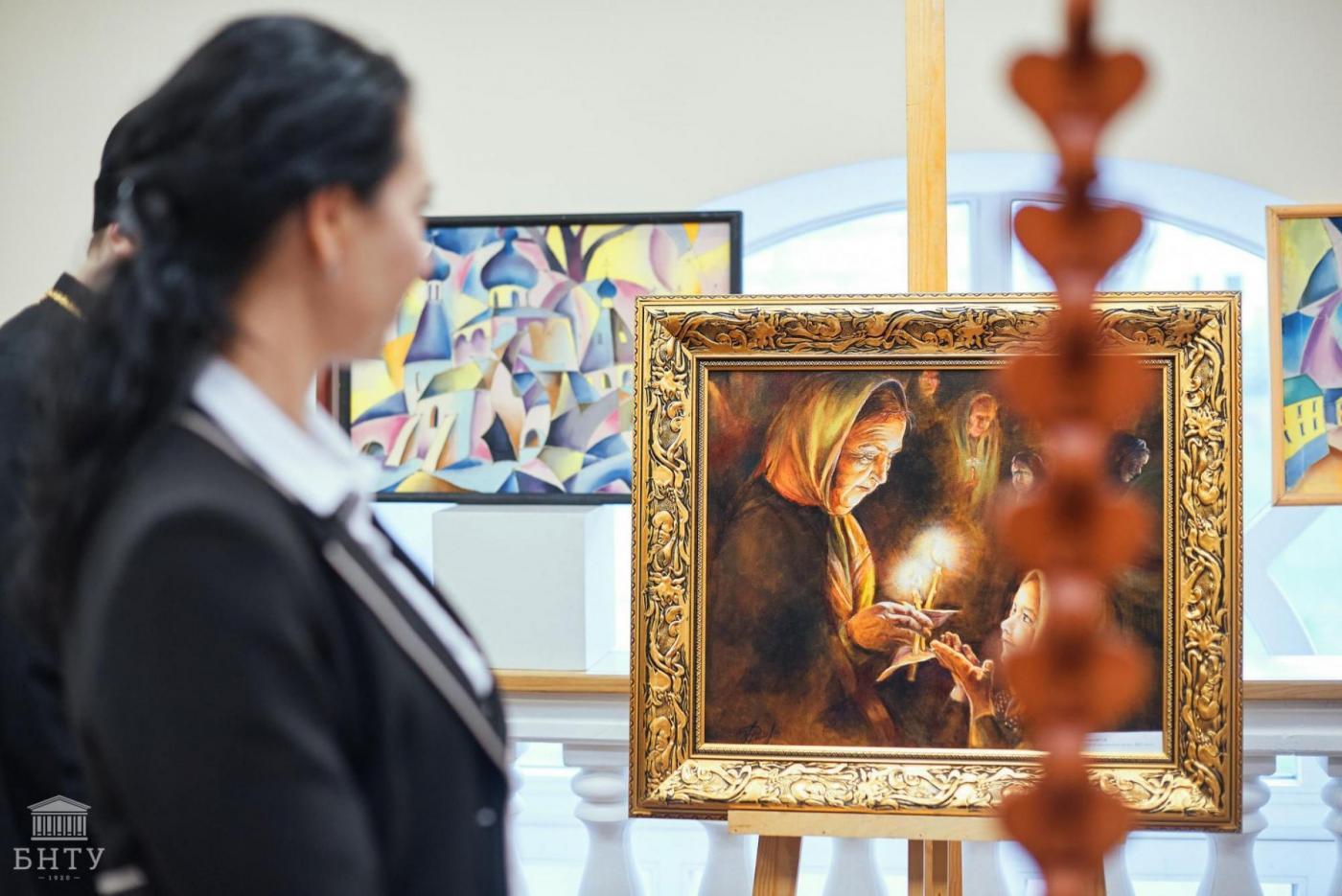 В БНТУ открылась ежегодная пасхальная выставка «Радость Пасхи»