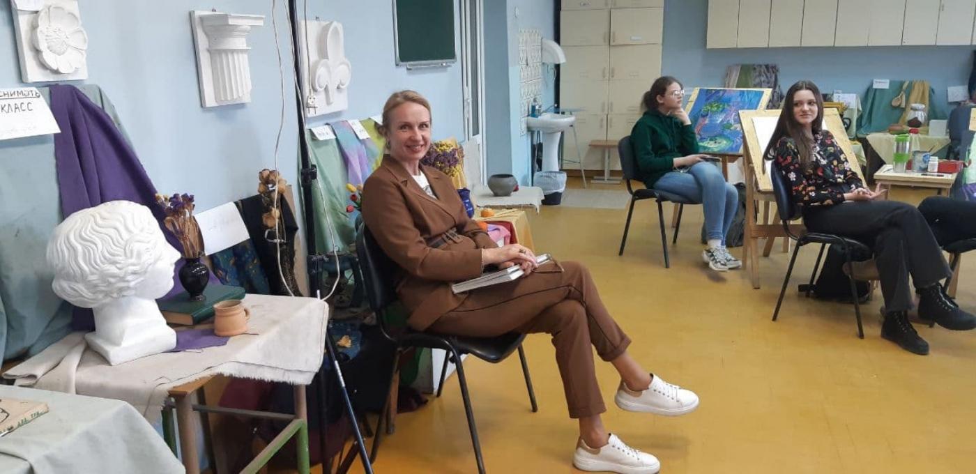 Профориентационное мероприятие в Детской художественной школе искусств города Молодечно