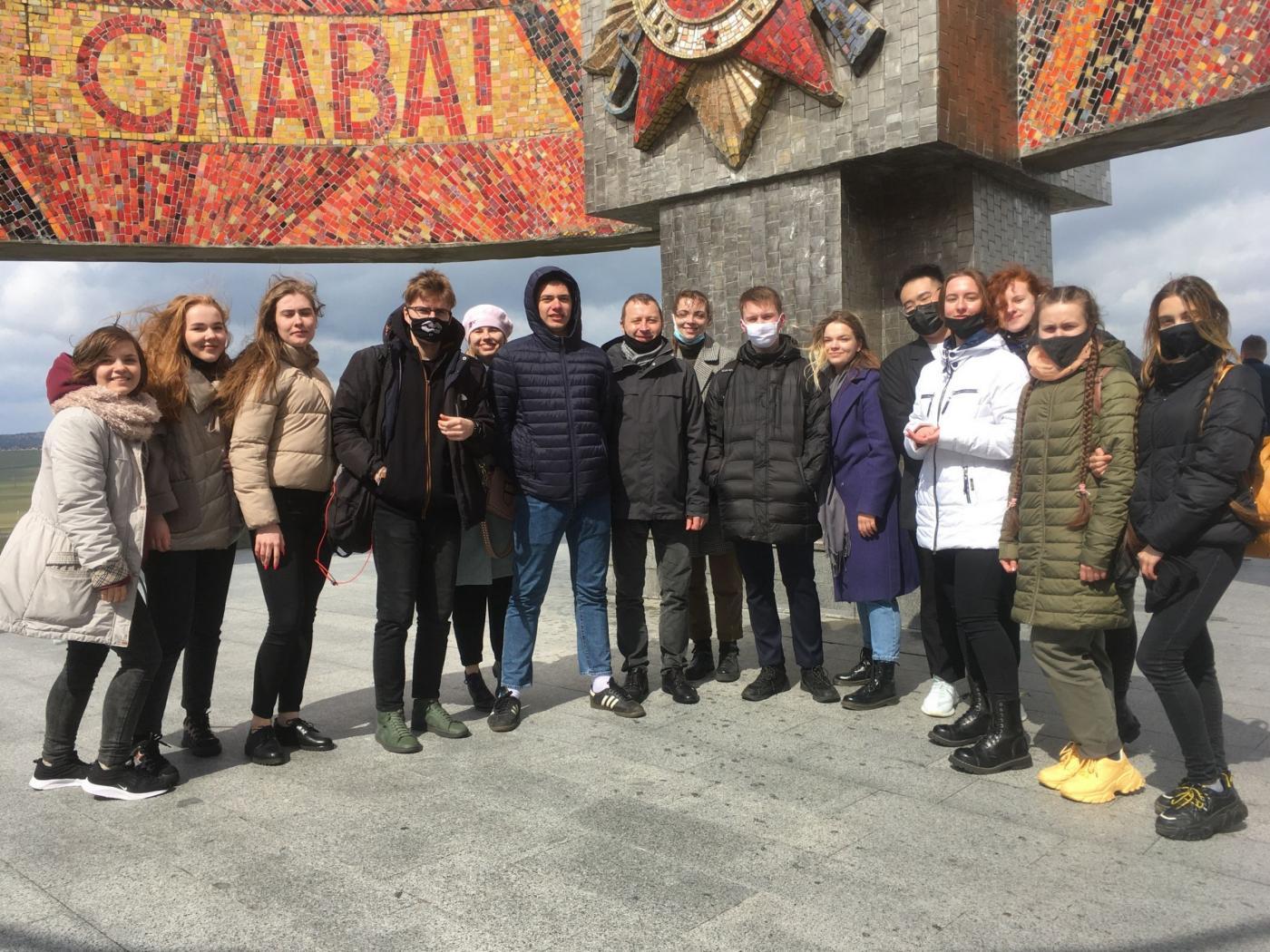 Студенты ФТУГ приняли участие в оцифровке мемориального комплекса «Курган Славы»