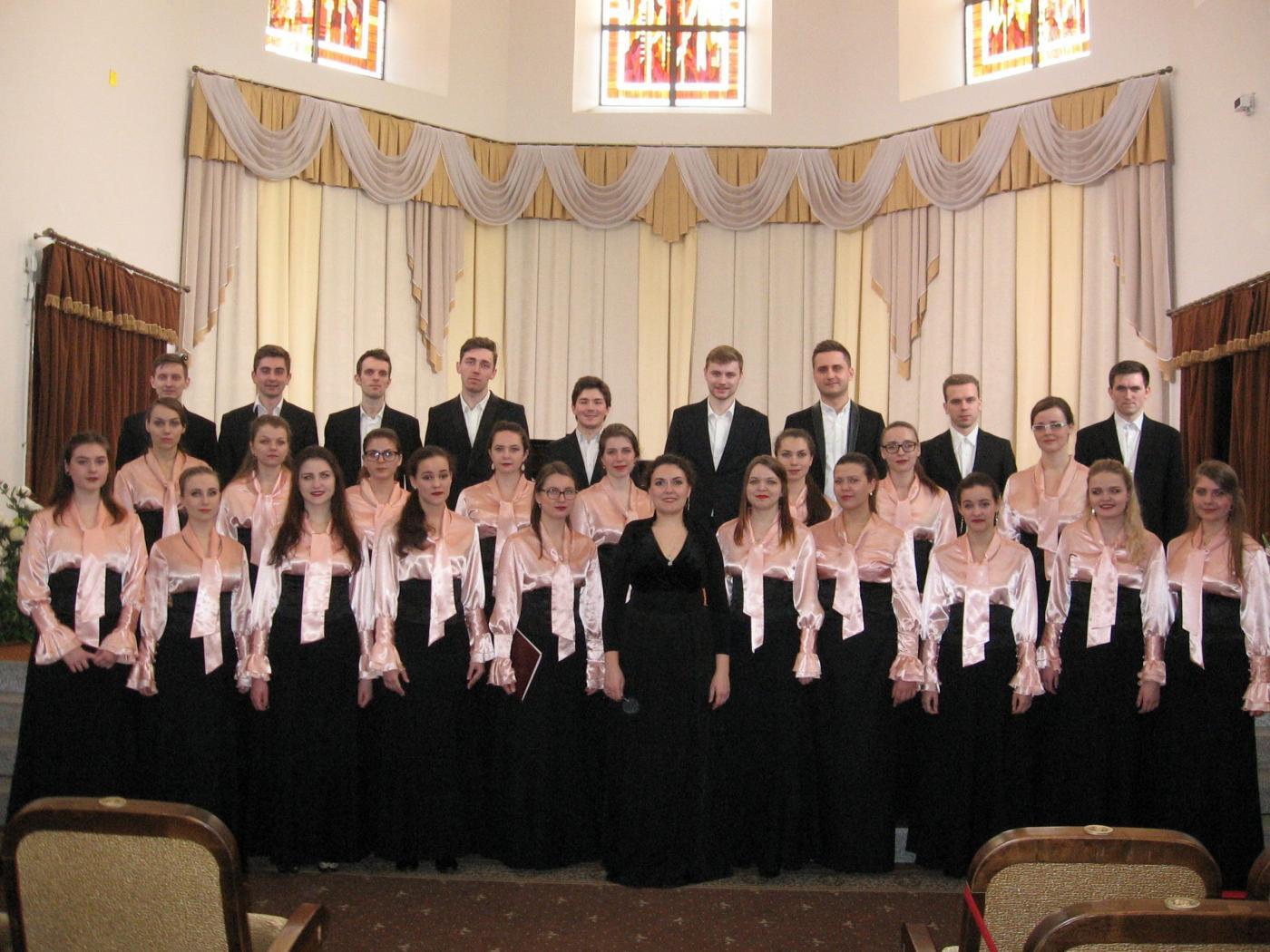 Народная хоровая капелла БНТУ стала лауреатом I Международного хорового конкурса им. В. Ровдо