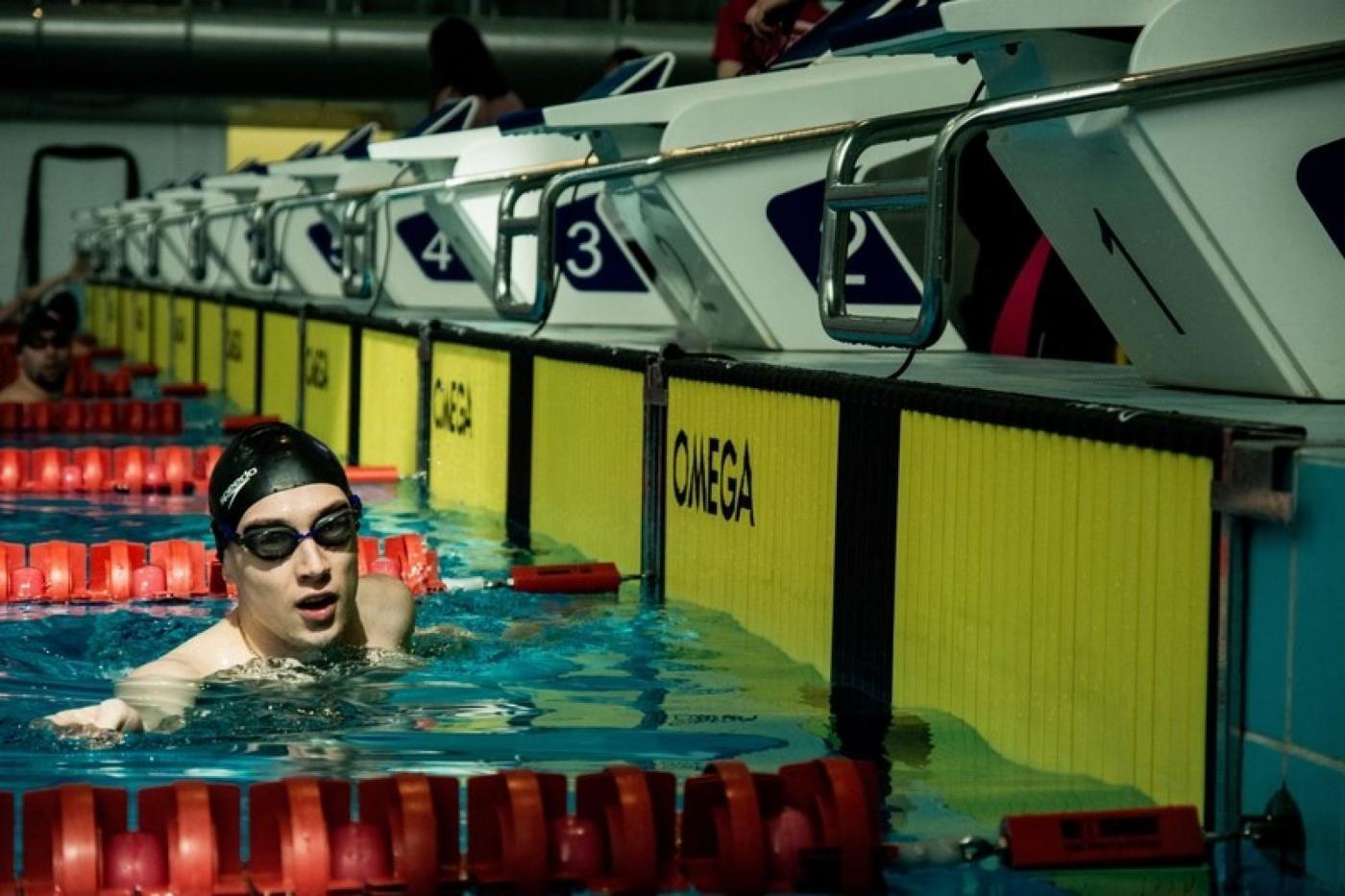 ПСФ на соревнованиях по плаванию