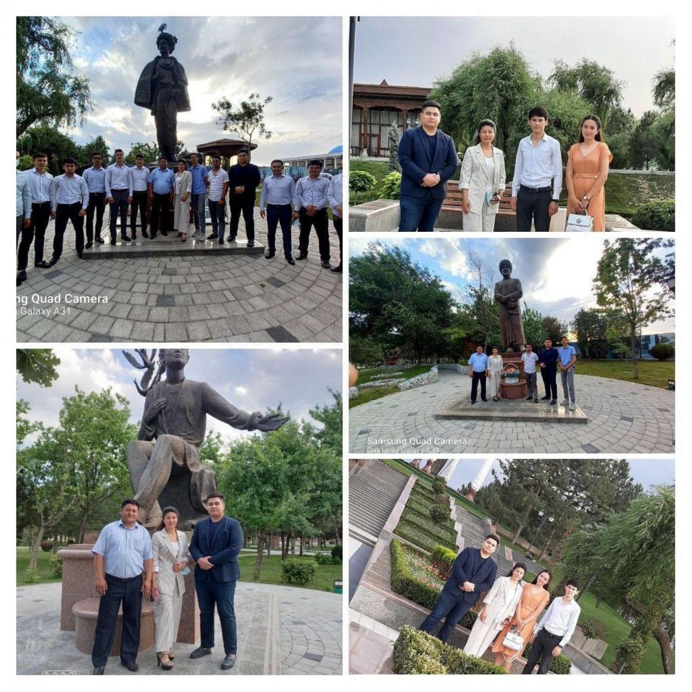 Студенты БУМИ посетили Аллею литераторов