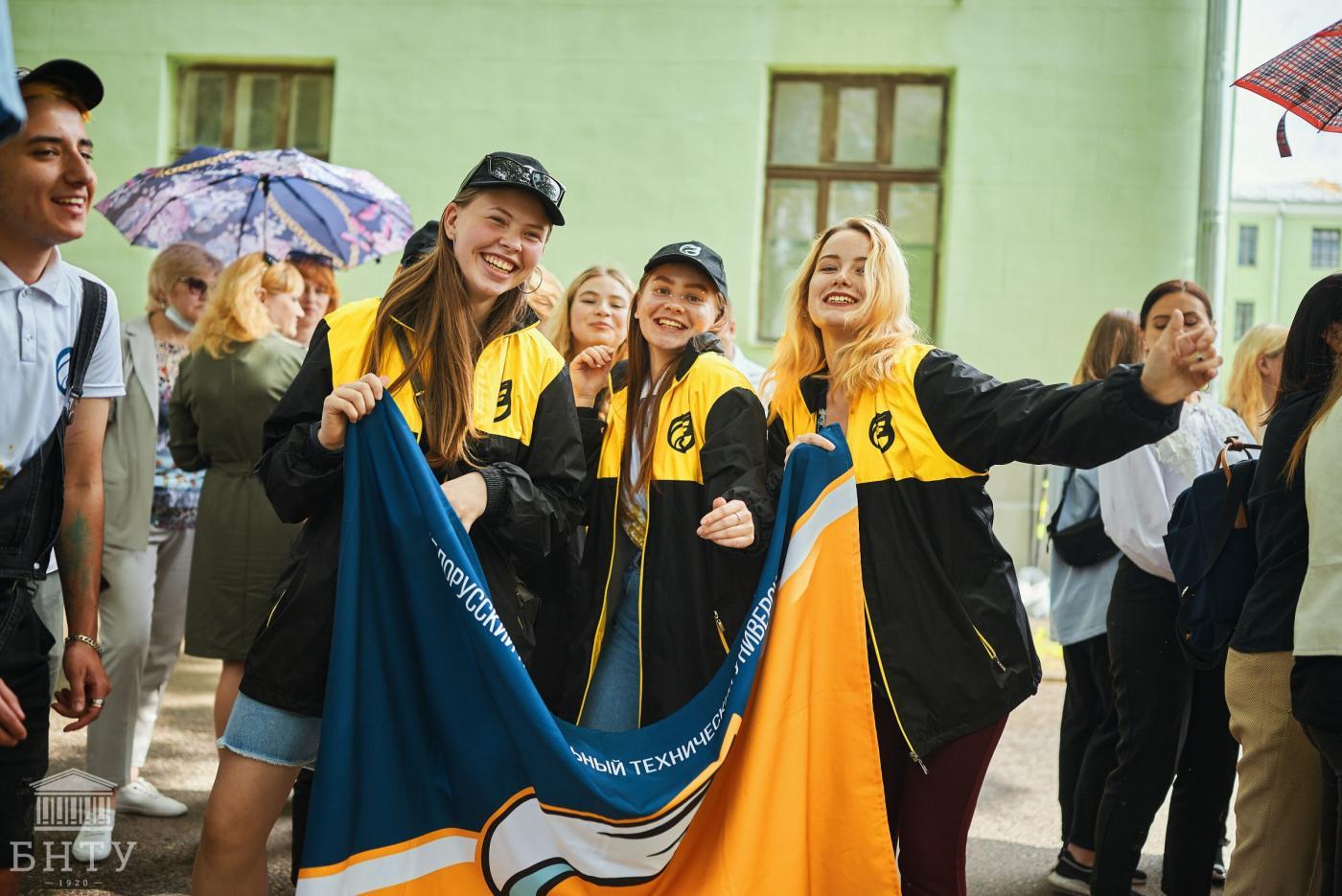 «Студенческое лето – 2021»: в БНТУ прошла торжественная церемония открытия летнего трудового семестра