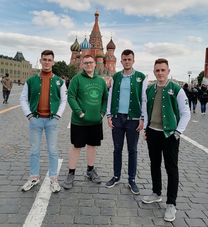 Команда из БНТУ приняла участие в финале Международного инженерного чемпионата «CASE-IN» в Москве