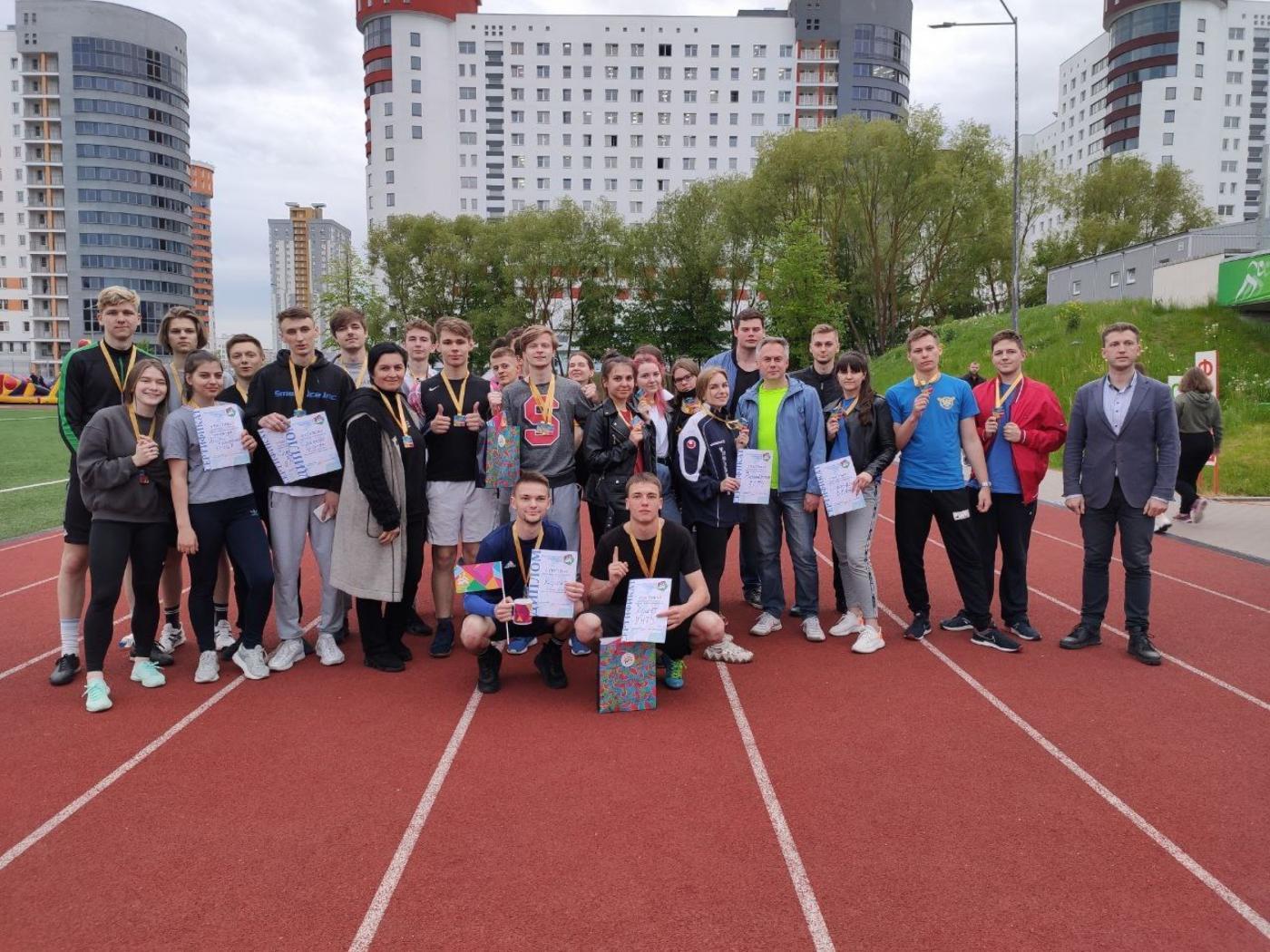 Команда БНТУ заняла первое место в молодежном физкультурно-спортивном празднике «Время твоих возможностей»