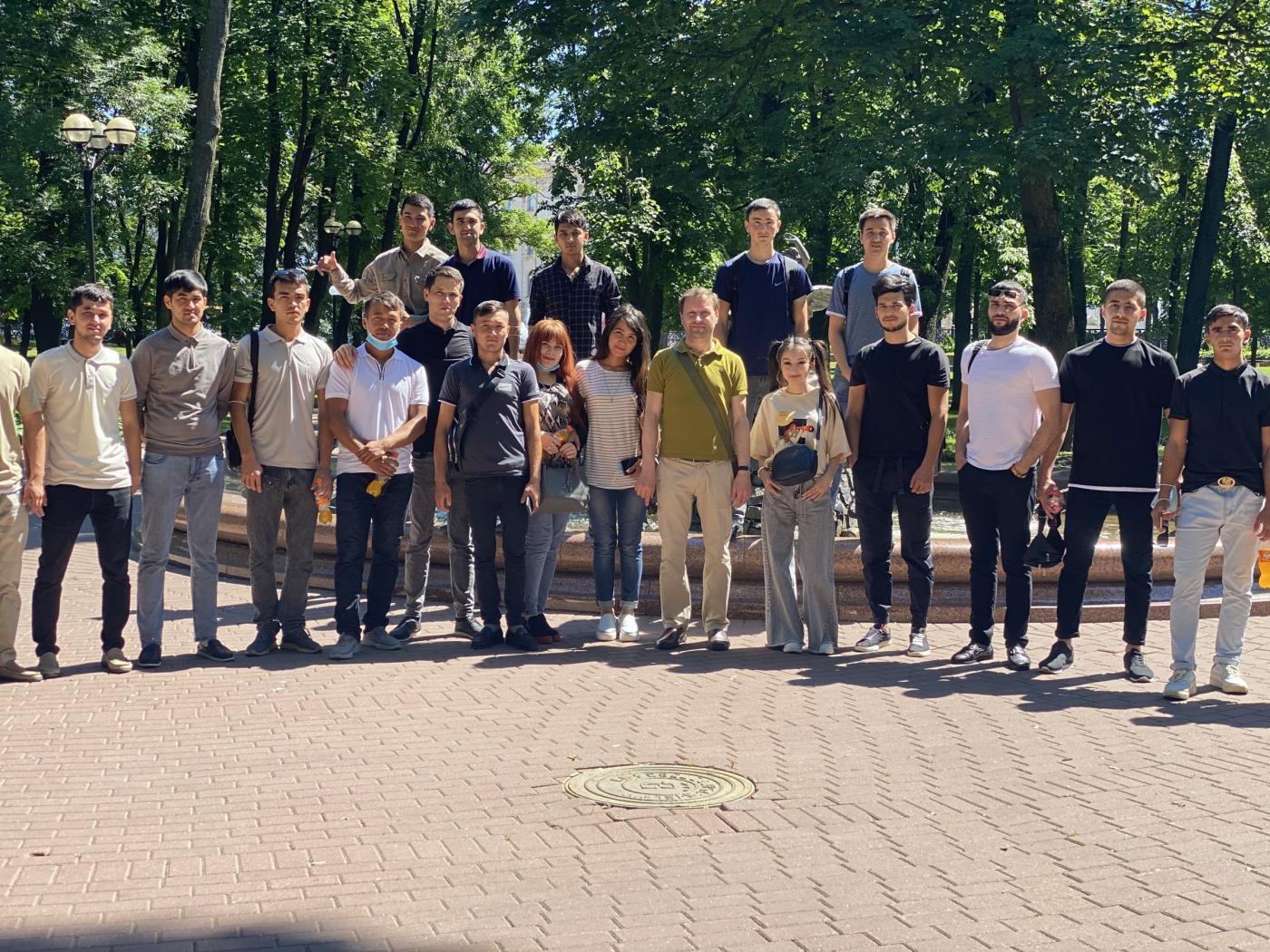 Обучение и свободное время студентов ФТУГ из Узбекистана в БНТУ