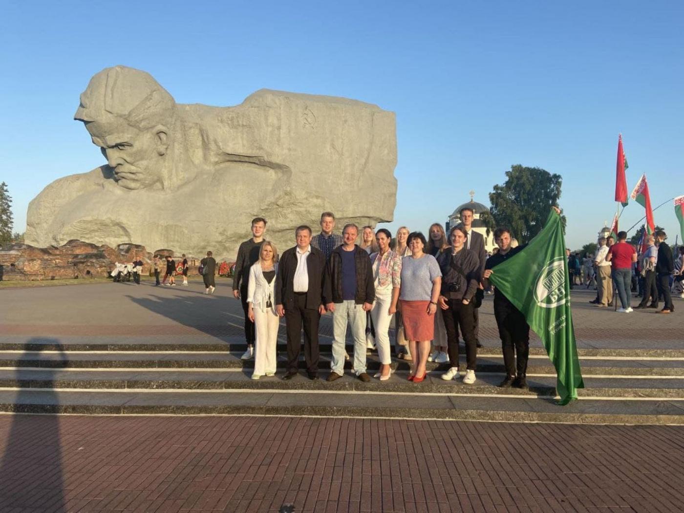 Представители БНТУ приняли участие в мероприятиях, посвященных 80-летию начала Великой Отечественной войны