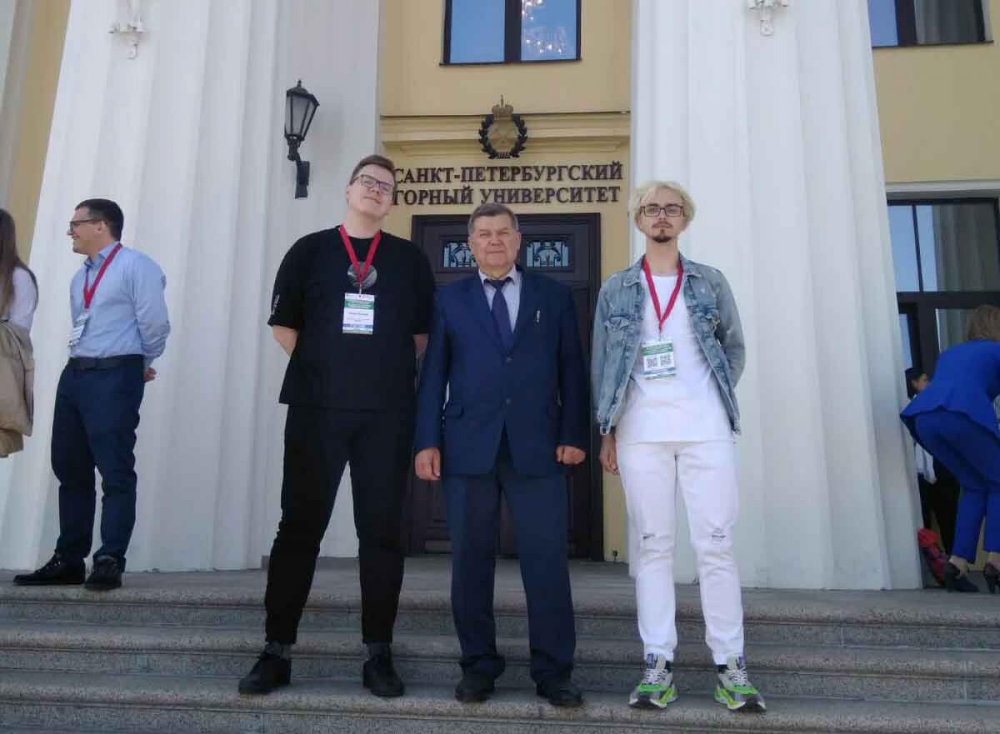 Представители ФЭС на Международном форуме-конкурсе студентов и молодых ученых в Санкт-Петербургском горном университете