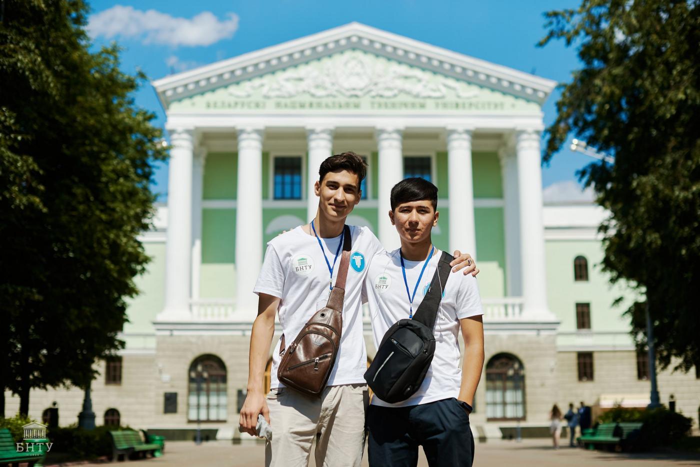 В БНТУ впервые прошла летняя школа для иностранных студентов