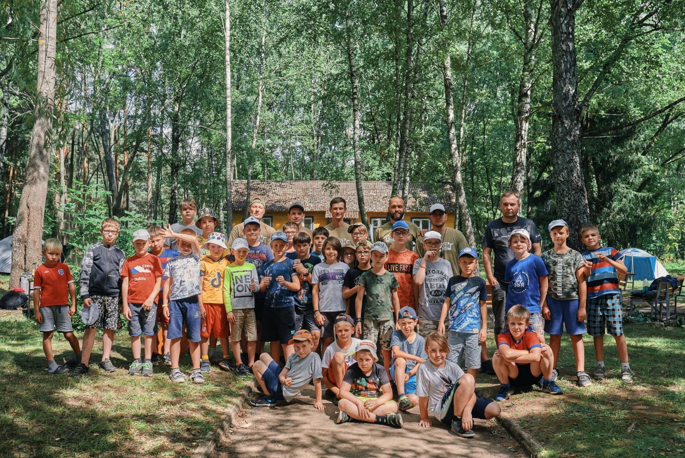 В санатории-профилактории БНТУ «Политехник» прошел лагерь «Герои», организованный центром развития Дмитрия Шуканова