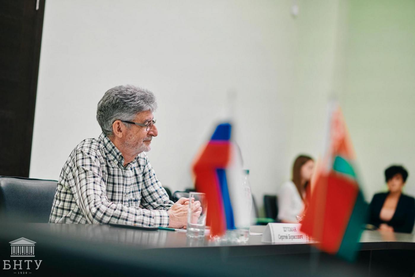Профессор МАДИ посетил БНТУ