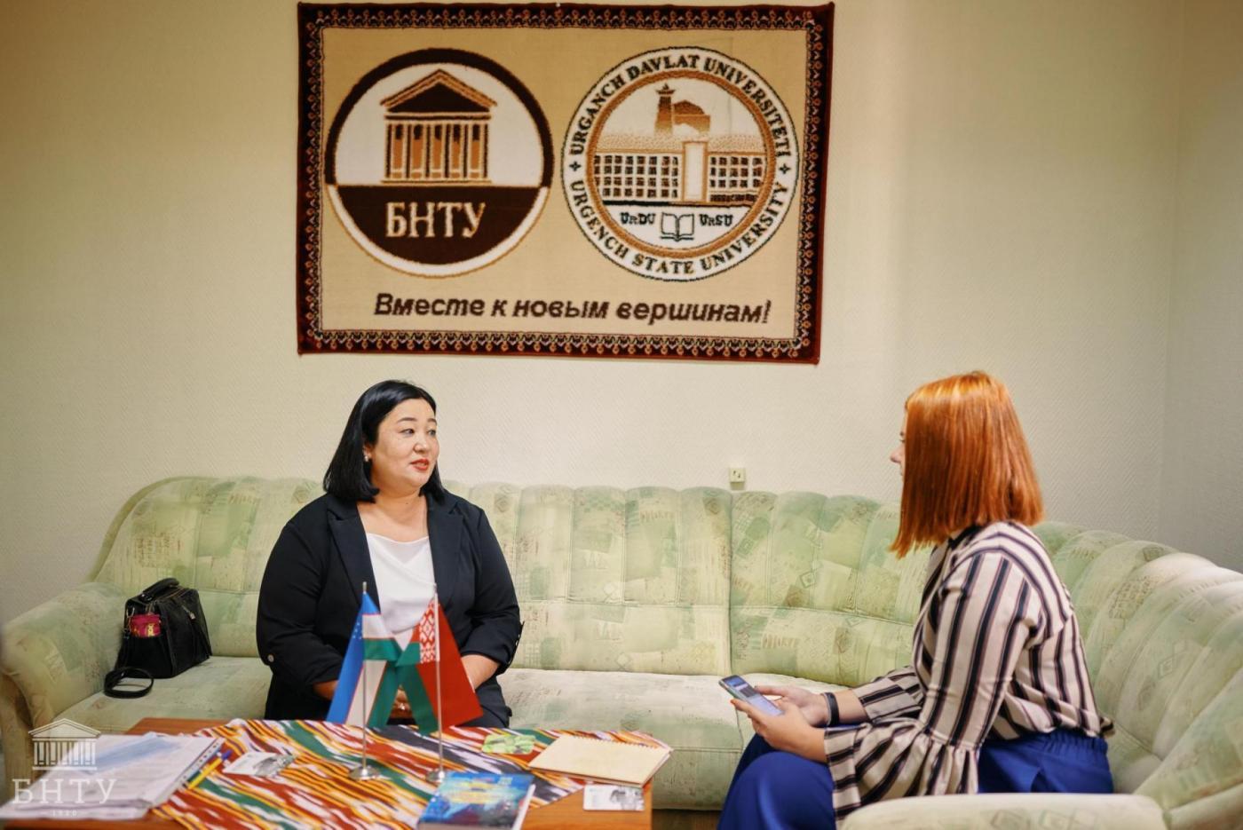 «У нас с белорусским народом очень схожие менталитеты, поэтому работать с БНТУ легко», – Анзират Нигмаджанова о совместных образовательных программах и международном сотрудничестве
