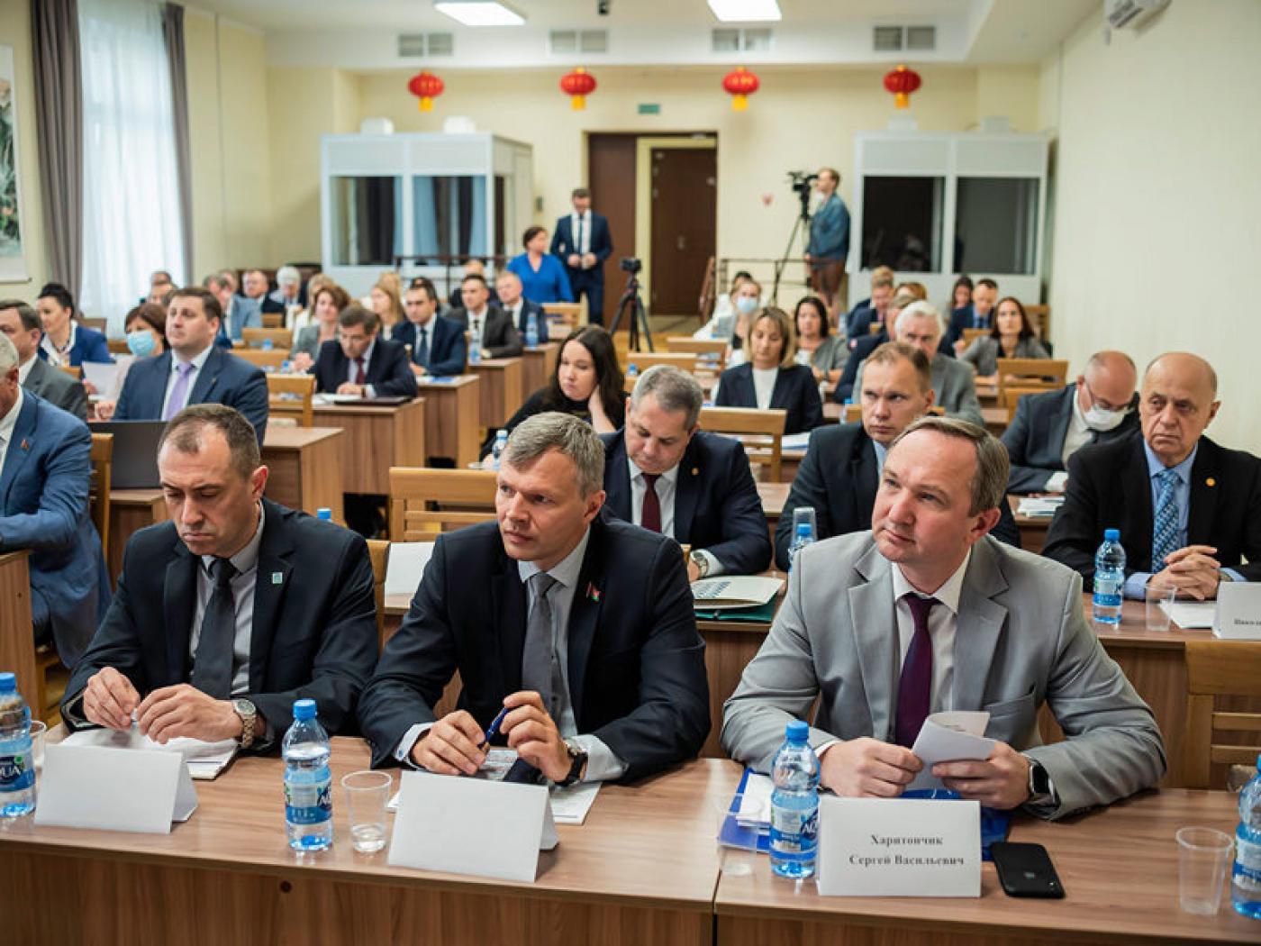 Ректор БНТУ принял участие в 7-й секции Республиканского педагогического совета в БГУ