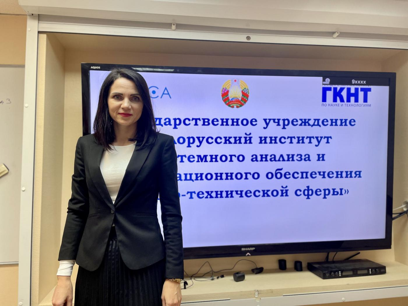 Представитель БелИСА провела гостевую лекцию для первокурсников ФММП