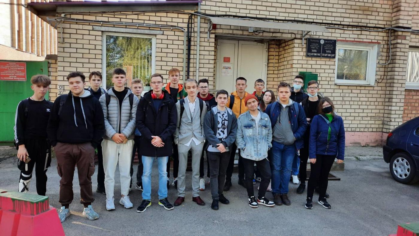 Первокурсники ПСФ посетили ОАО «Завод спецавтоматика»