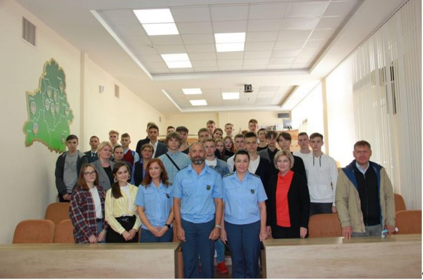 Профориентационное мероприятие «Задай вопрос таможеннику», посвященное 30-летию образования таможенной службы Республики Беларусь