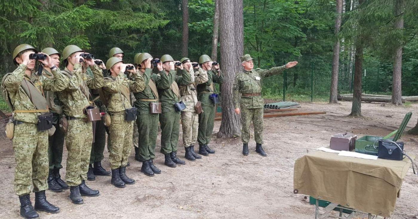 Начальная профессиональная подготовка с курсантами 1-го курса ВТФ