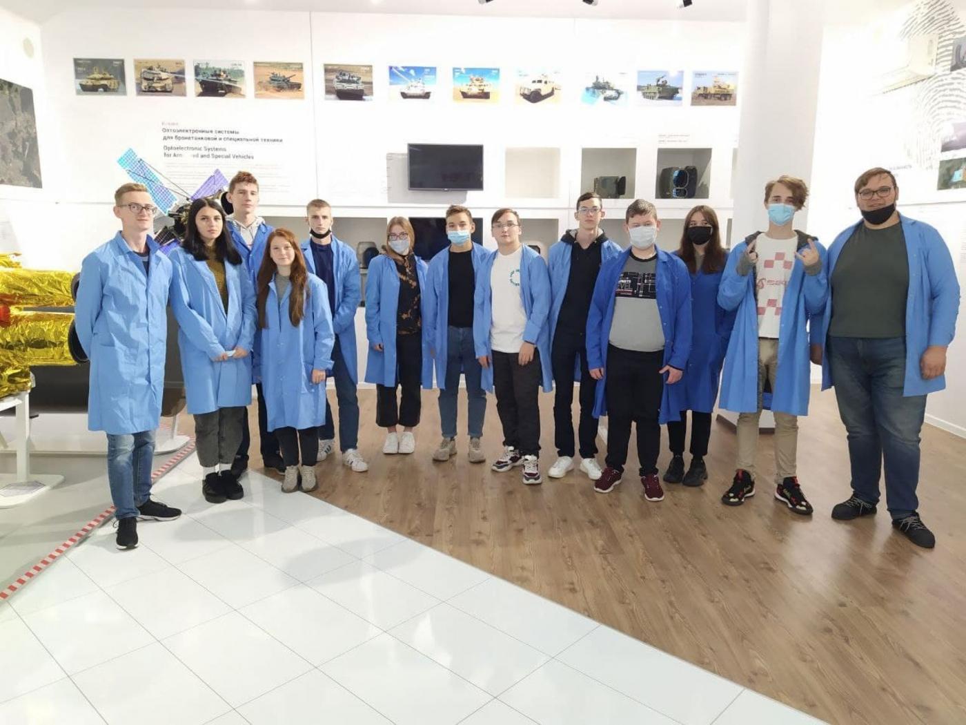 Экскурсия на ОАО «Пеленг»