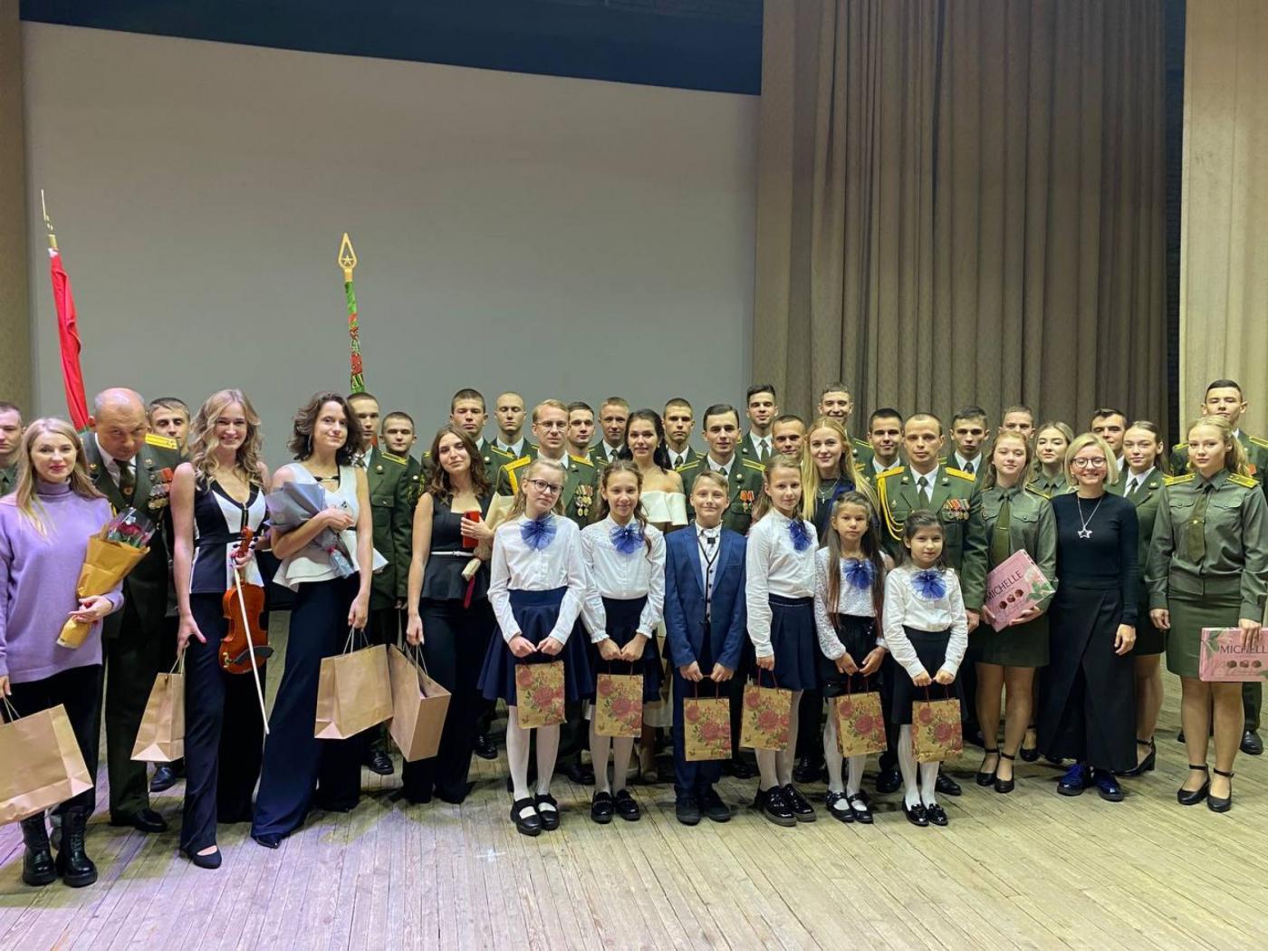Участие студентов ФТУГ в концерте, посвященном Дню народного единства