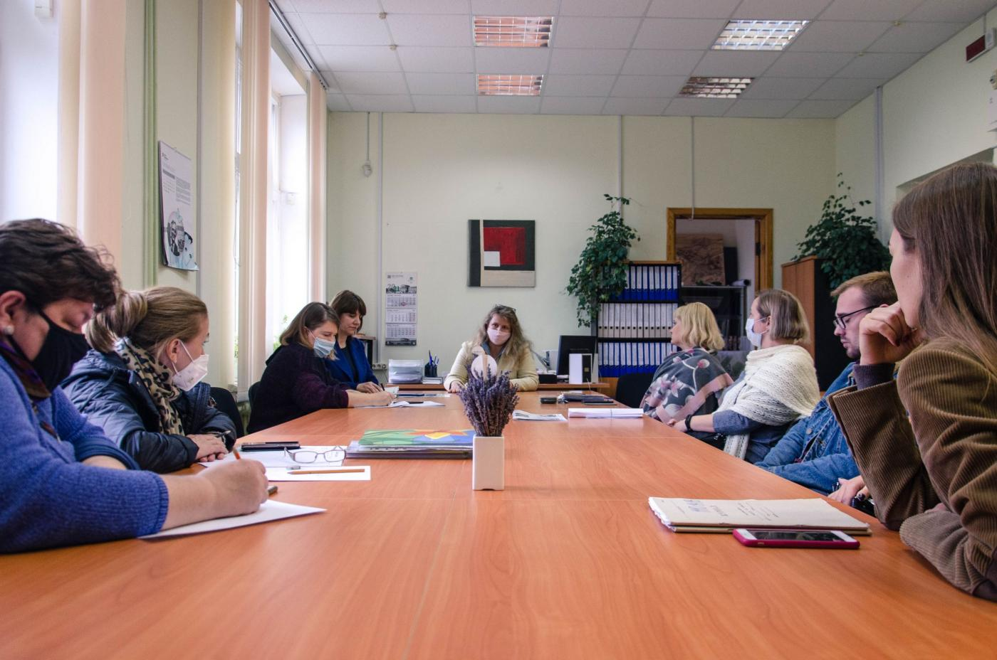 На архитектурном факультете состоялась встреча с главным архитектором Минска