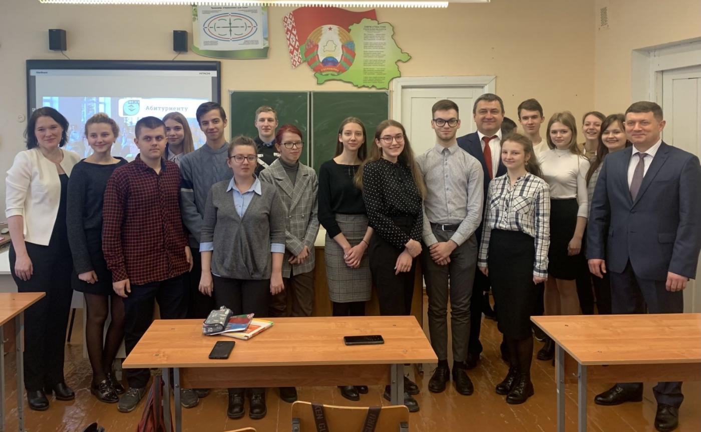 Профориентация для будущих молодых кадров Петриковского рудоуправления