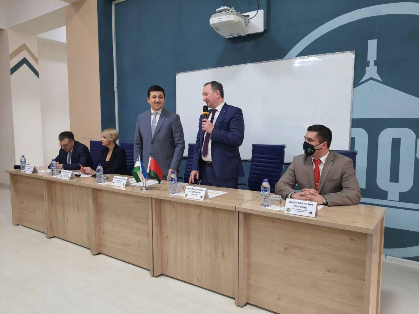 Расширение сотрудничества с Ташкентским архитектурно-строительным институтом