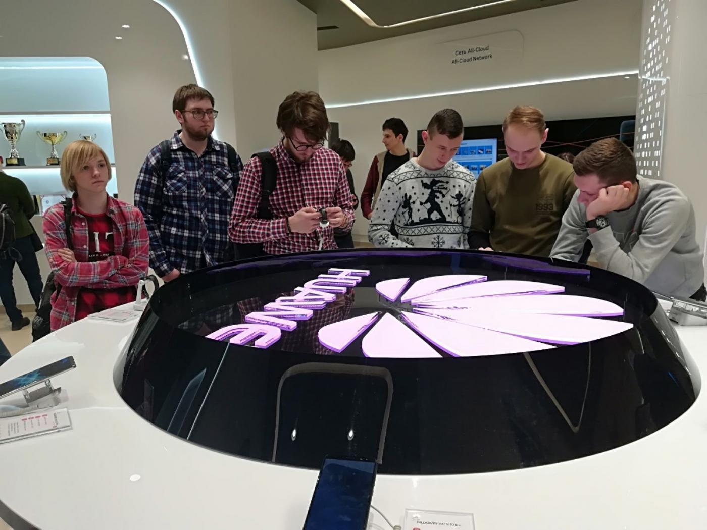 Посещение ООО «Бел Хуавей Технолоджис» в рамках  проекта «Семена будущего»