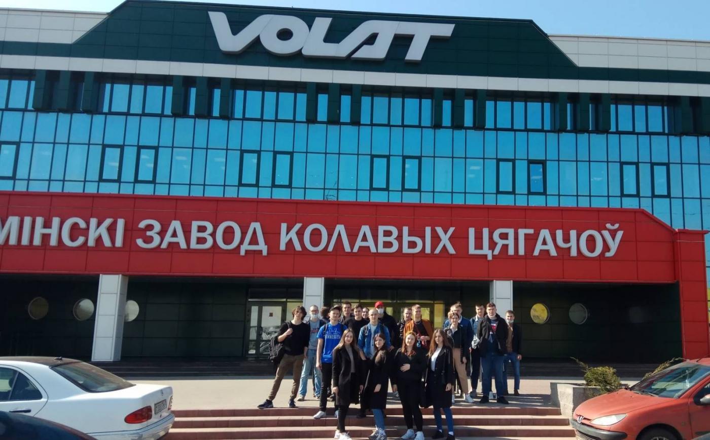 Студенты факультета горного дела и инженерной экологии посетили VOLAT – флагмана отечественного машиностроения