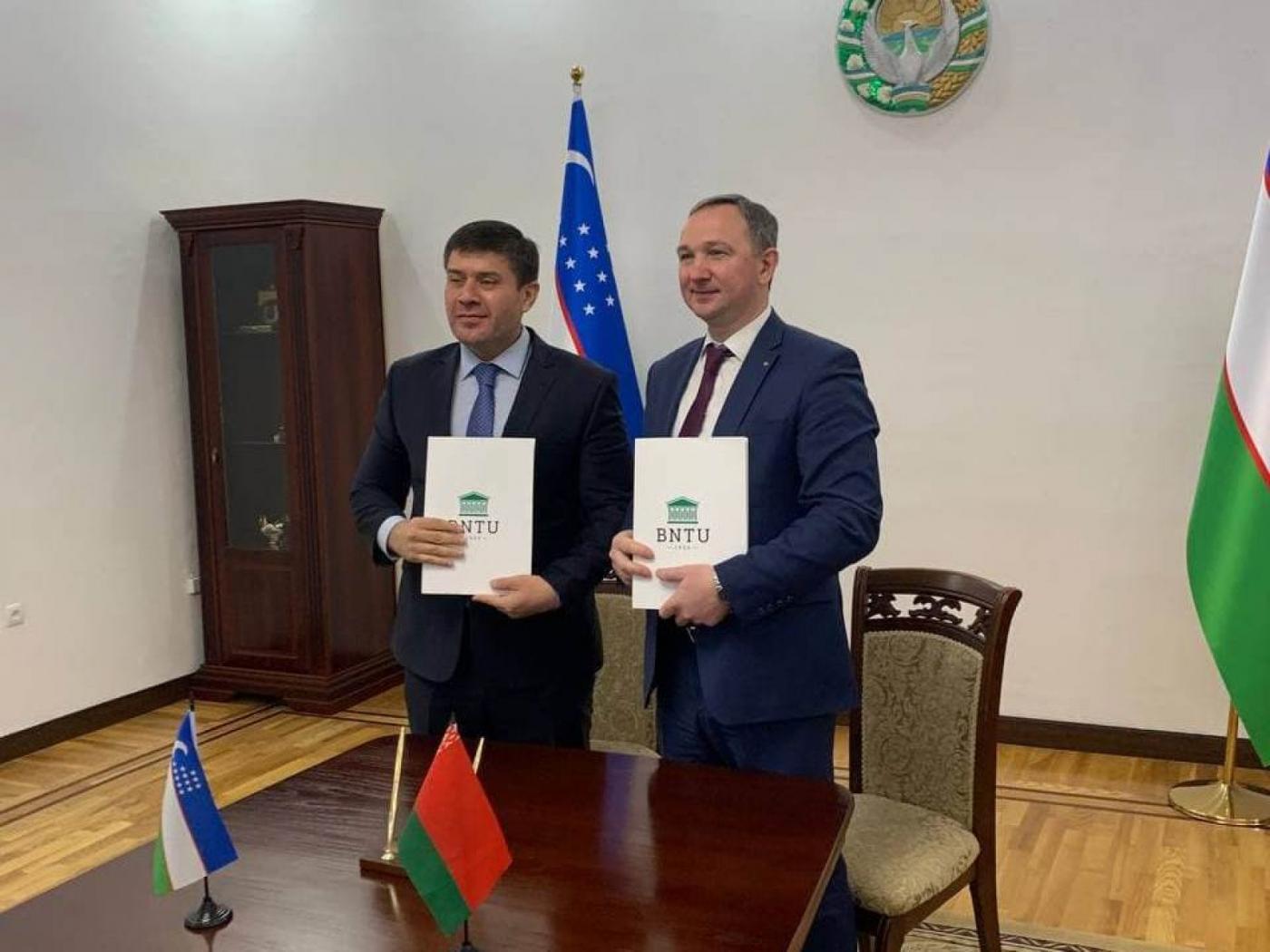 Укрепляем сотрудничество с Ташкентским государственным транспортным университетом