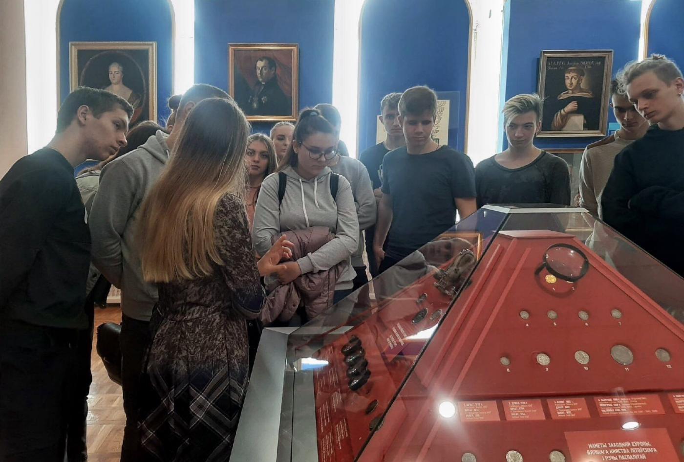 Студенты МТФ в Национальном историческом музее Республики Беларусь