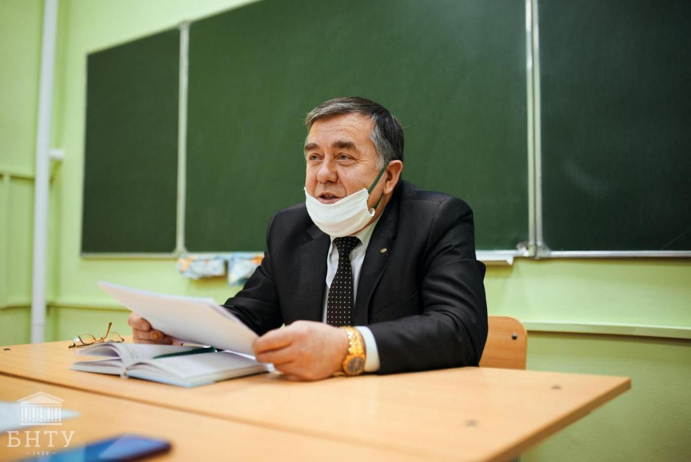 Университет в лицах: Басалай Григорий Антонович