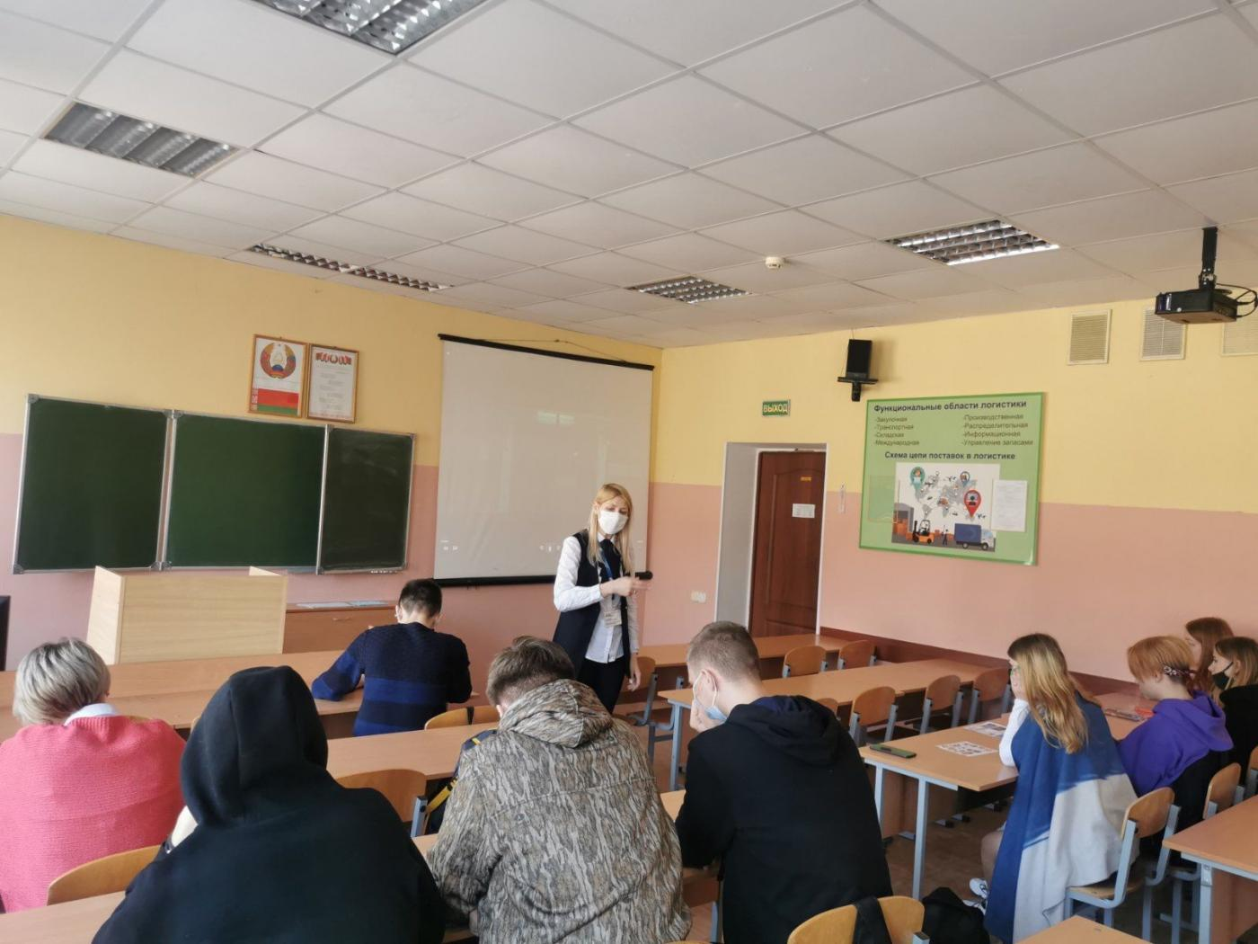 Визит ФММП в колледжи города Барановичи