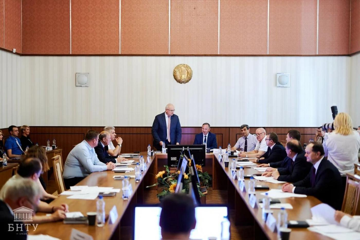 В БНТУ начал работу Общественный совет по организации празднования 100-летия