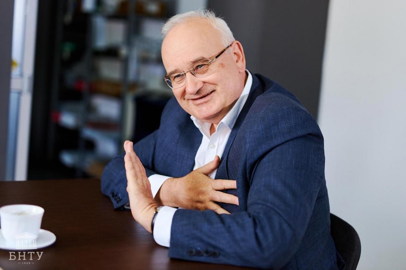 «Во многом мне помог университет». Интервью с председателем Общественного совета БНТУ Николаем Александровичем Ладутько
