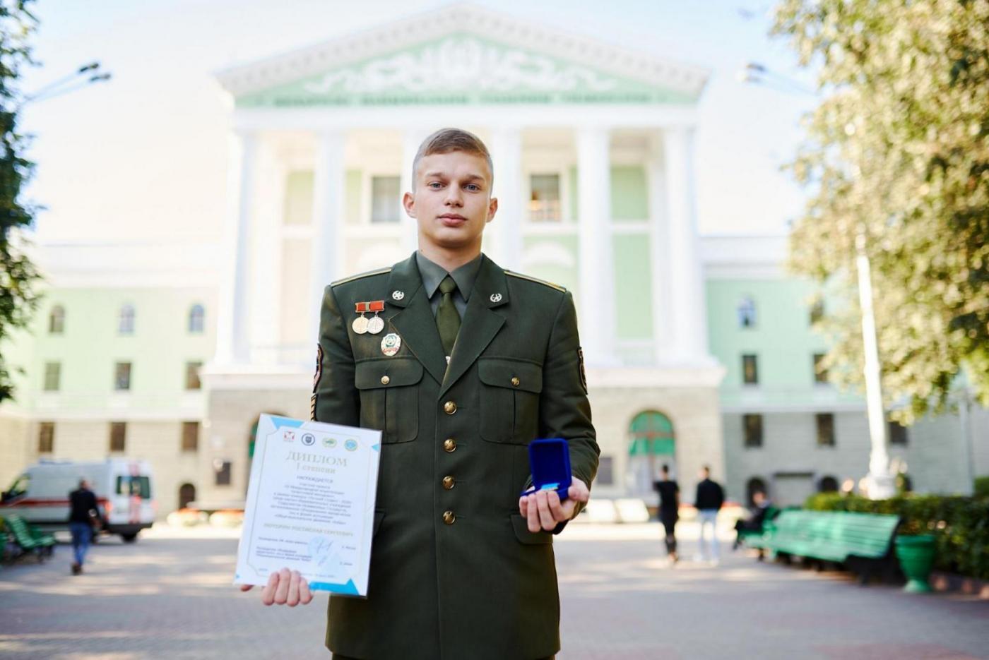 Курсант военно-технического факультета БНТУ стал лучшим студентом СНГ – 2020