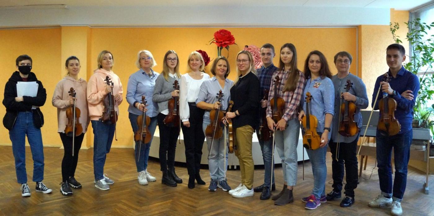 На концерте скрипичной музыки