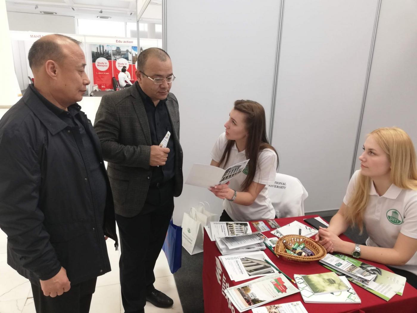 Делегация БНТУ в Узбекистане
