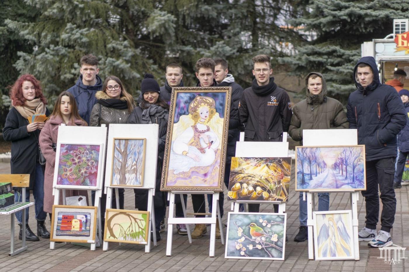 МГАСК принял участие в выставке учреждений образования и организаций Партизанского района г. Минска