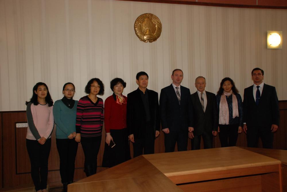 Международное сотрудничество с ВУЗами г. Шанхая