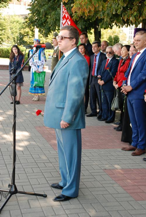 Торжественная линейка Первокурсник-2017