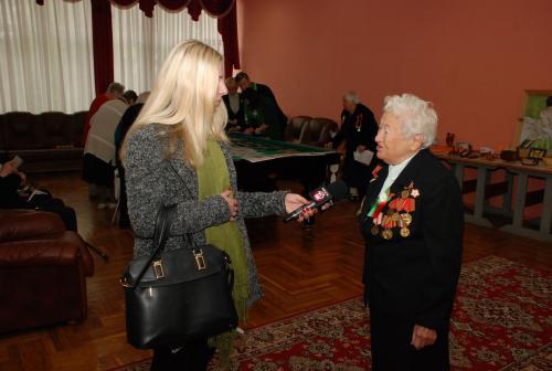 Благотворительная акция «Студенчество БНТУ – ветеранам»