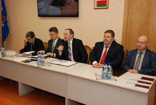 Выездное заседание Совета БНТУ