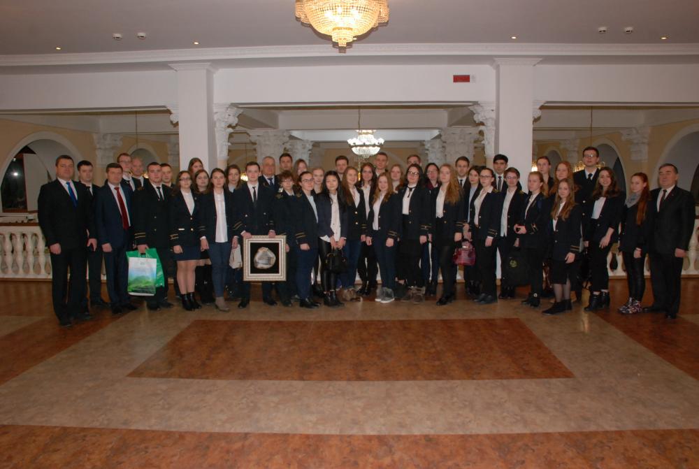 БНТУ посетила делегация Санкт-Петербургского горного университета
